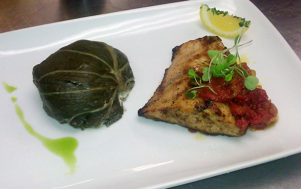 Recipe grilled hawaiian fish luau leaf palu sami confit for Hawaiian fish recipes